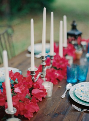 Mexican Inspired Wedding Centerpiece