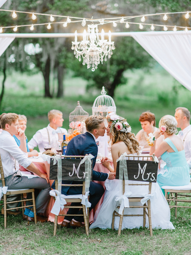 Outdoor Wedding Reception ~ Pasha Belman Photography