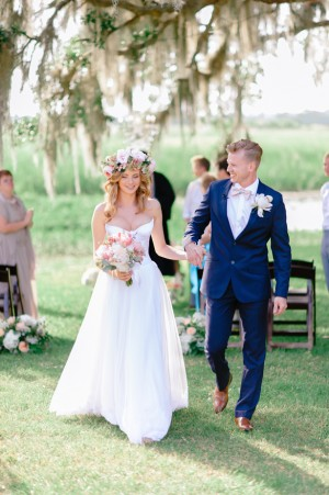 Outdoors Wedding Ceremony ~ Pasha Belman Photography