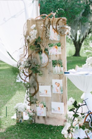 Rustic and romantic wedding ceremony decor ~ Pasha Belman Photography