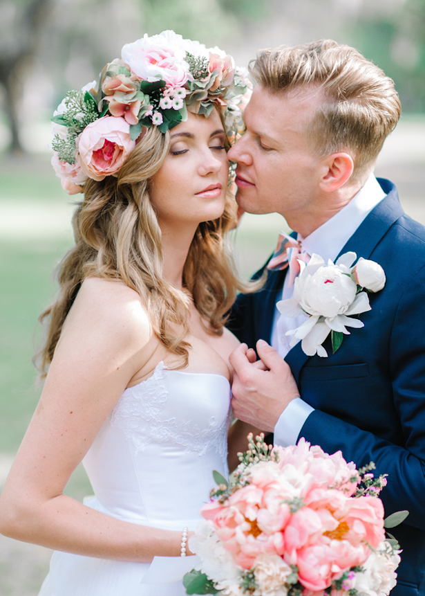 Romantic Bohemian Wedding with a touch of Southern Charm