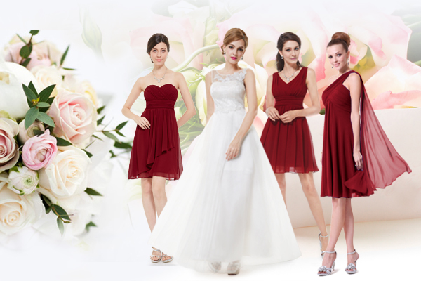 bridesmaid dresses by ever-pretty