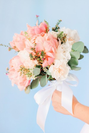 Peony Wedding Bouquet ~ Pasha Belman Photography