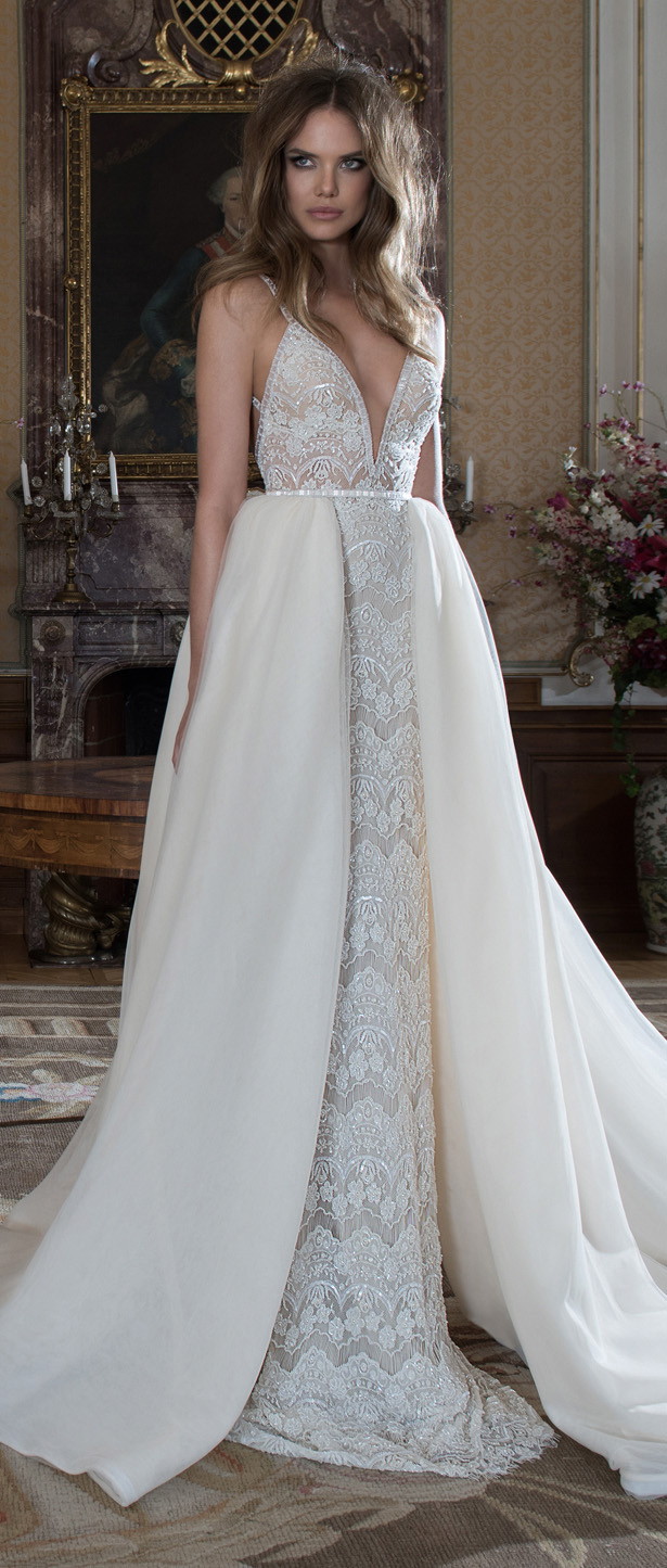 Bridal trends wedding dresses with detachable skirts belle the wedding dress by berta bridal fall 2015 ombrellifo Choice Image