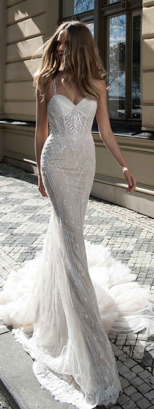 Wedding Dress by Berta Bridal Fall 2015