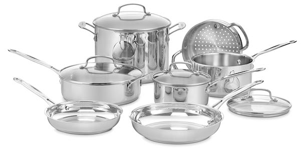 Chef's Classic™ Stainless Cookware Collection ~ Wedding Registry by Cuisinart