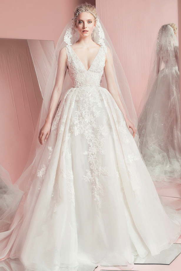 Zuhair murad spring 2016 bridal collection belle the for Zuhair murad wedding dress