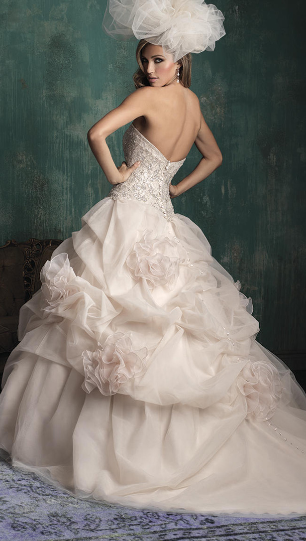 Allure Couture Fall 2015 Wedding Dress C340B