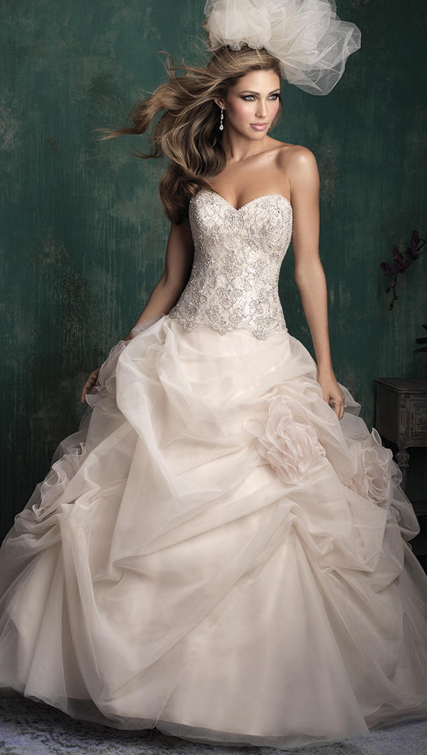 Allure Couture Fall 2015 Wedding Dress C340F