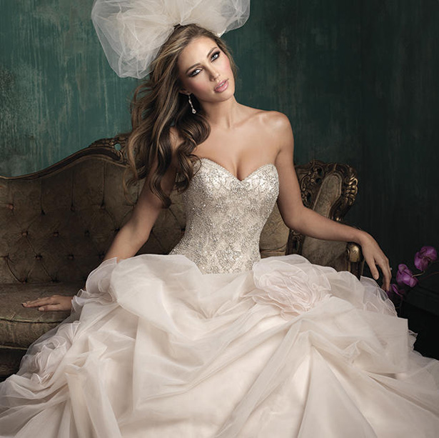 Allure Couture Fall 2015 Wedding Dress C340S