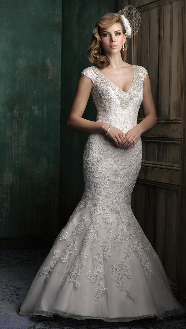 Allure Couture Fall 2015 Wedding Dress C342F