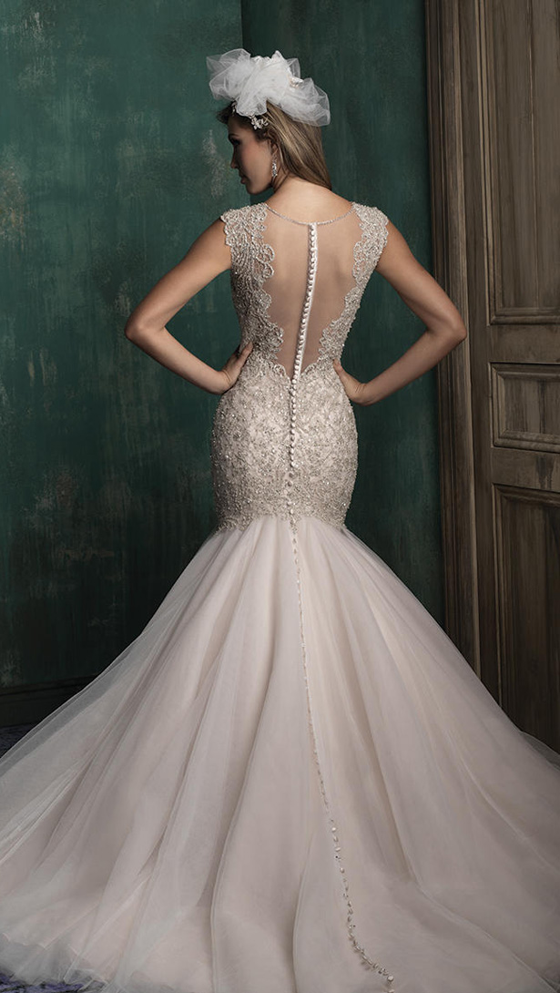 Couture Wedding Dresses Brigg : Single wedding dress in allure couture fall bridal collection