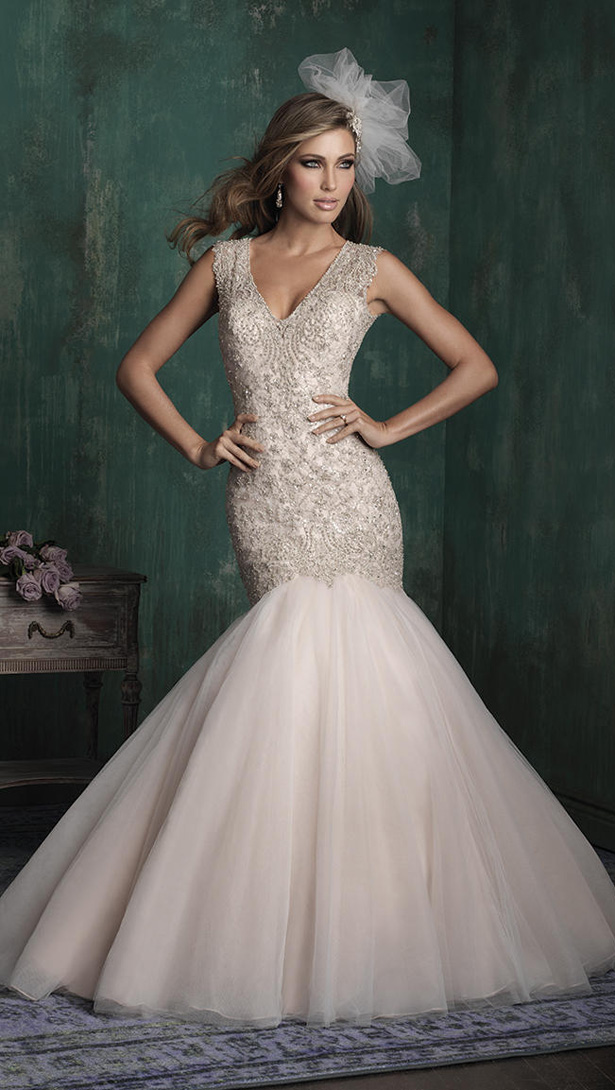 Allure Couture Fall 2015 Wedding Dress C343F