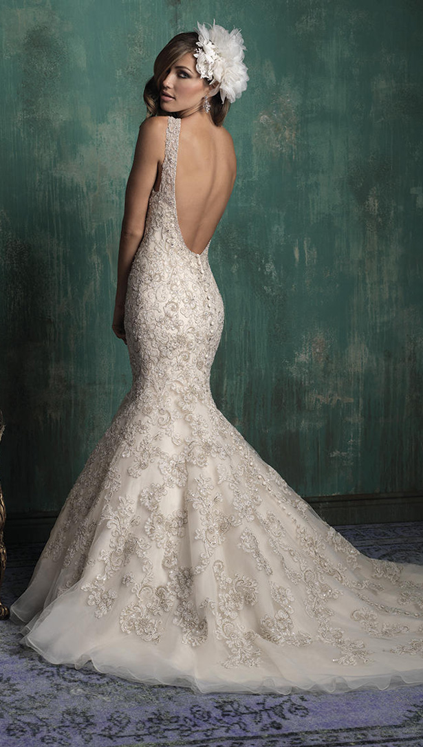 Allure Couture Fall 2015 Wedding Dress C344B