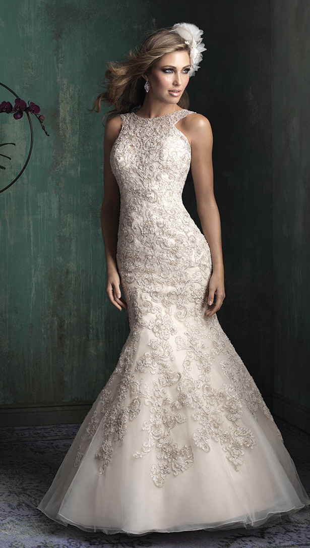 Allure Couture Fall 2015 Wedding Dress C344F