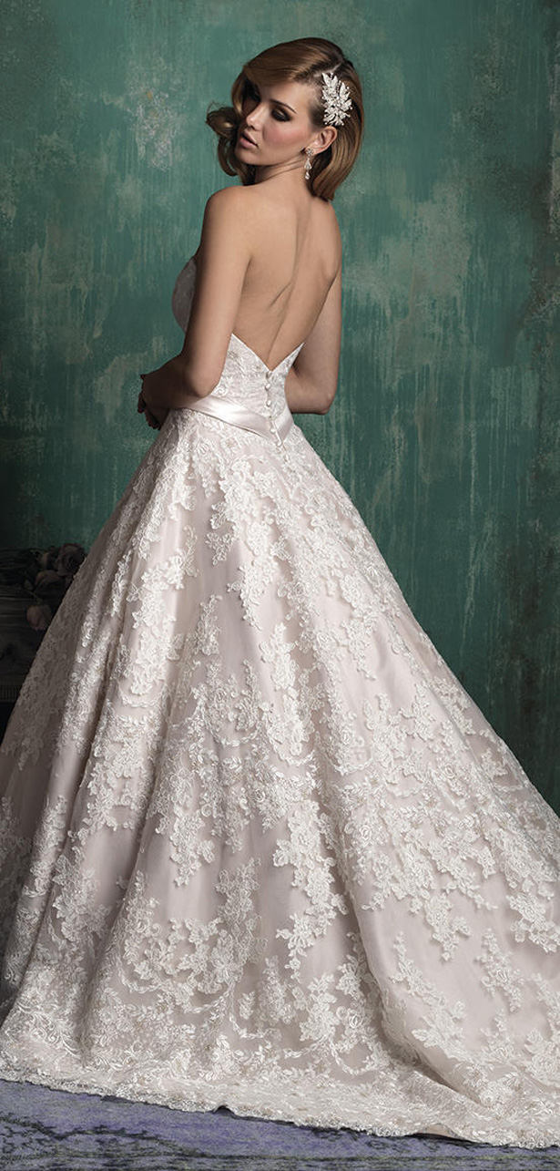 Allure Couture Fall 2015 Wedding Dress C345B