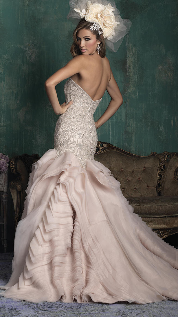 Allure Couture Fall 2015 Wedding DressC346B