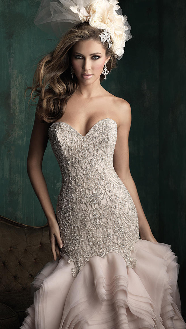 Allure Couture Fall 2015 Wedding Dress C346C
