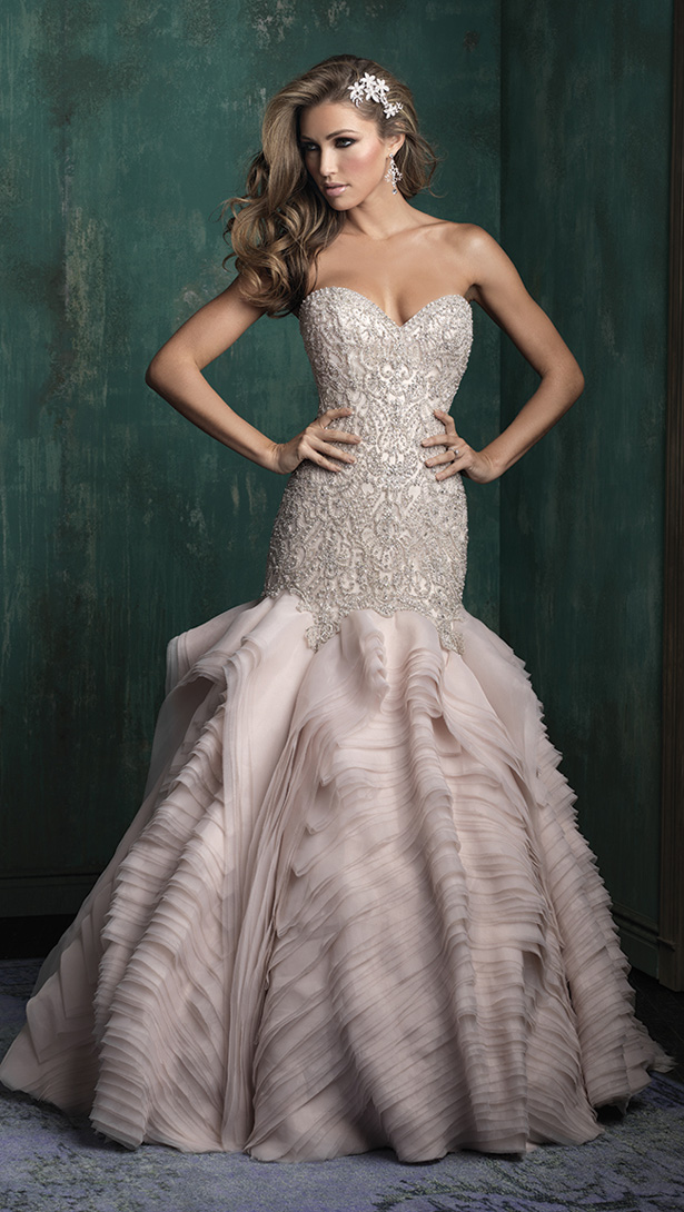 Allure Couture Fall 2015 Wedding Dress C346F