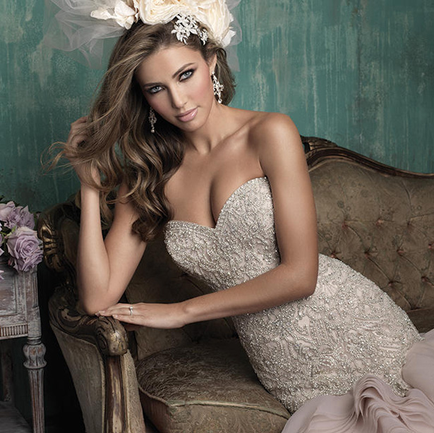 Allure Couture Fall 2015 Wedding Dress C346H