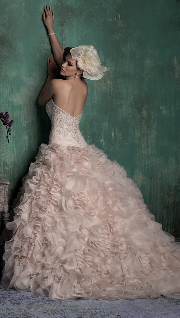 Allure Couture Fall 2015 Wedding Dress C347B