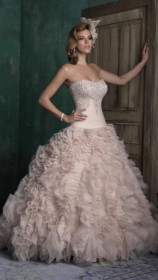 Allure Couture Fall 2015 Wedding Dress C347F