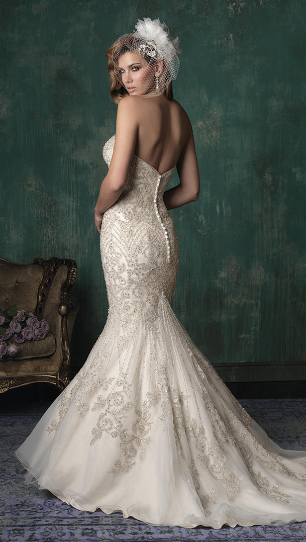 Allure Couture Fall 2015 Wedding Dress C348B