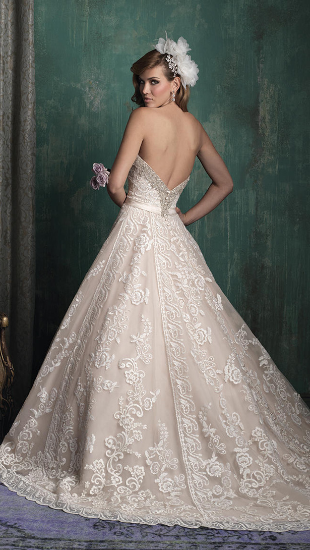 Allure Couture Fall 2015 Wedding Dress C349B
