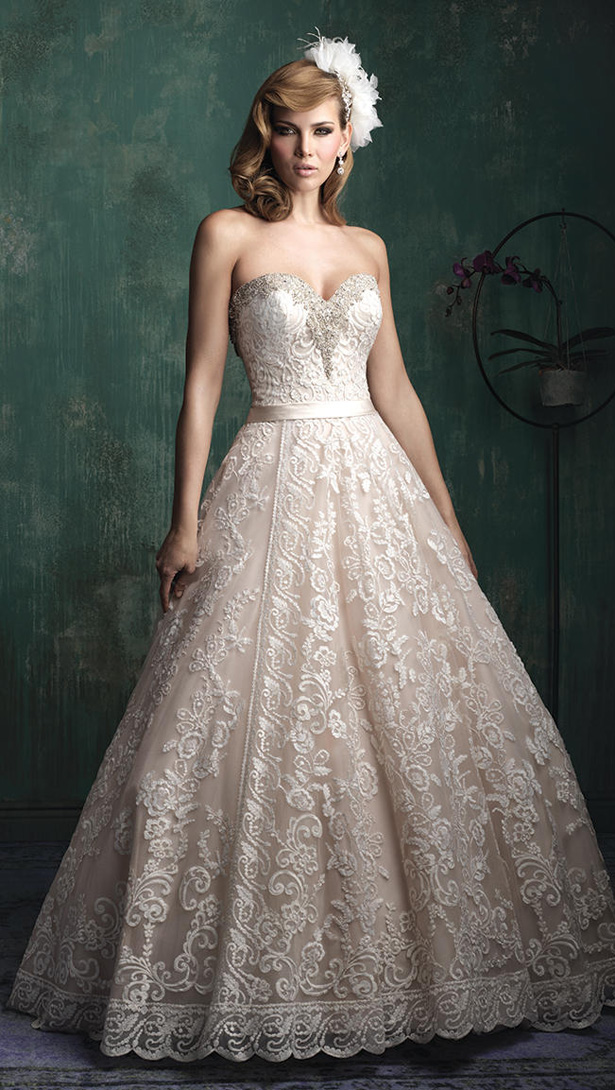 Allure Couture Fall 2015 Wedding Dress C349F