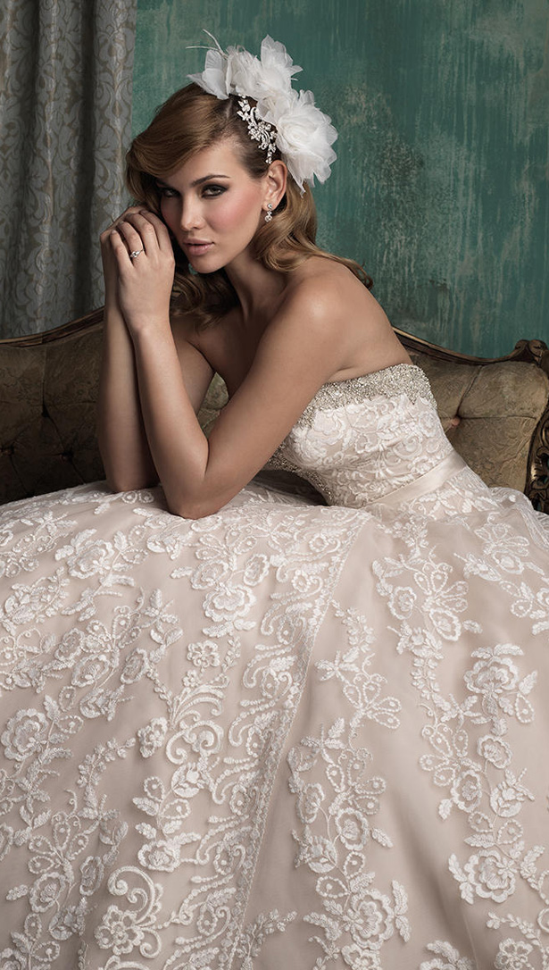 Allure Couture Fall 2015 Wedding Dress C349S