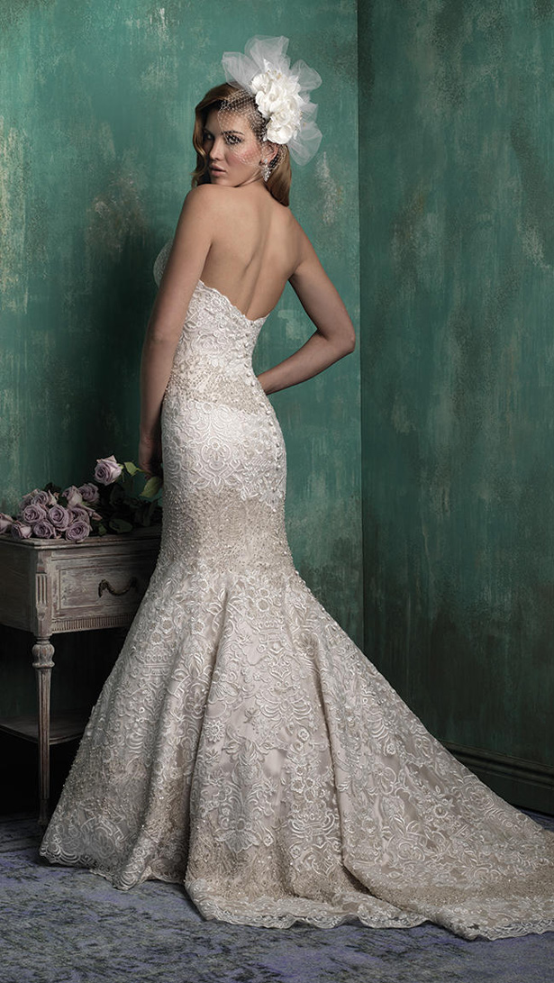 Allure Couture Fall 2015 Wedding Dress C351B