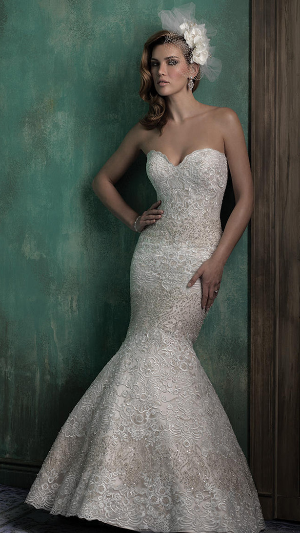 Allure Couture Fall 2015 Wedding Dress C351F