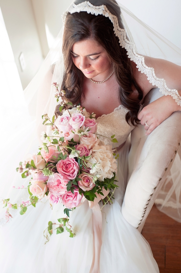 English Inspired Rosy Chic Wedding Styled Shoot