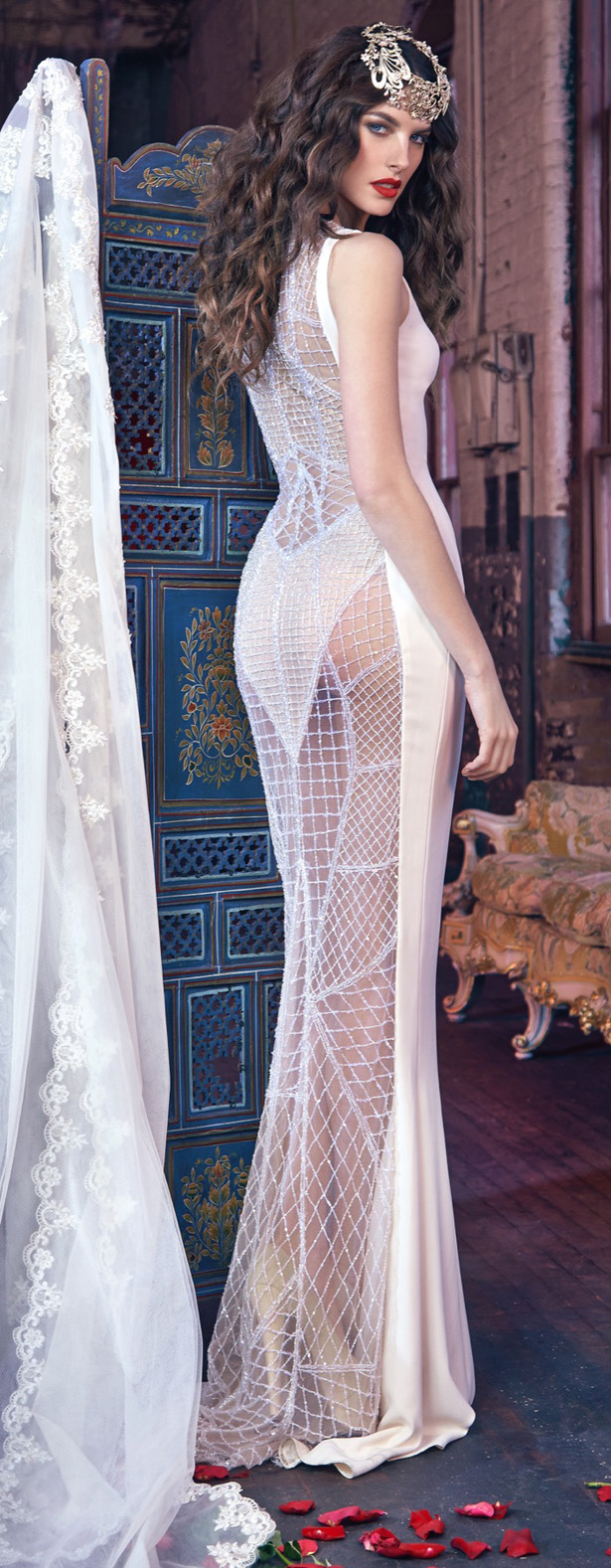 "Wedding Dress by Galia Lahav ""Les Reves Bohemians"""