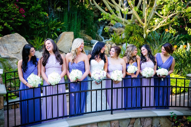 Lilac and Lavender Bridesmaid Dresses