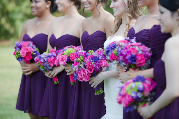 Purple Bridesmaids Look ~ Blackbird Photography LLC