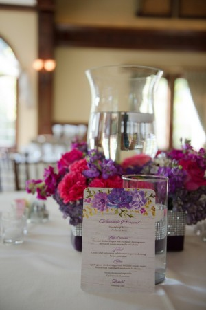 Purple Wedding Details ~ Blackbird Photography LLC