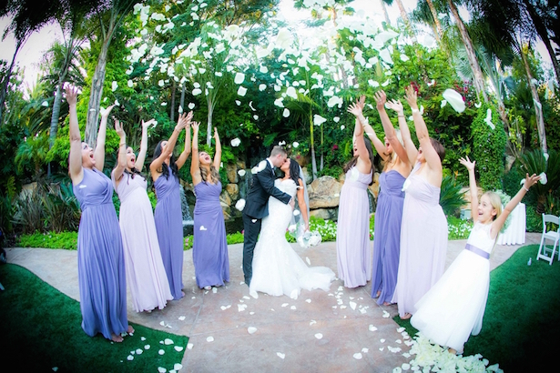 Glamorous Lilac and Lavender Wedding
