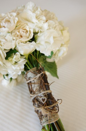 Rustic Wedding Bouquet ~ Carrie Wildes Photography