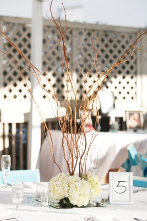 Wedding Centerpiece  ~ Carrie Wildes Photography