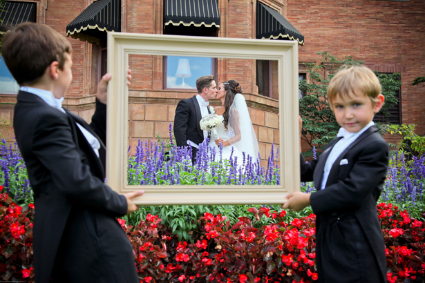 Wedding Picture Idea ~ Trevor Booth Photography