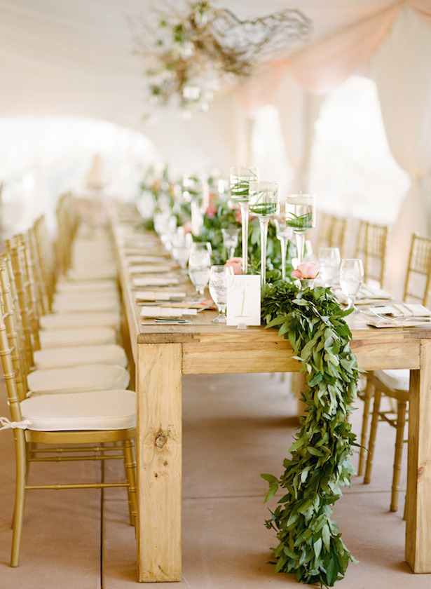 Wedding Table Garland