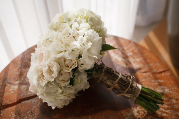 White Wedding Bouquet  ~ Carrie Wildes Photography
