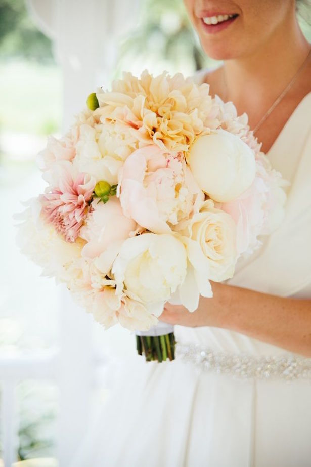 Pastels Wedding Bouquet