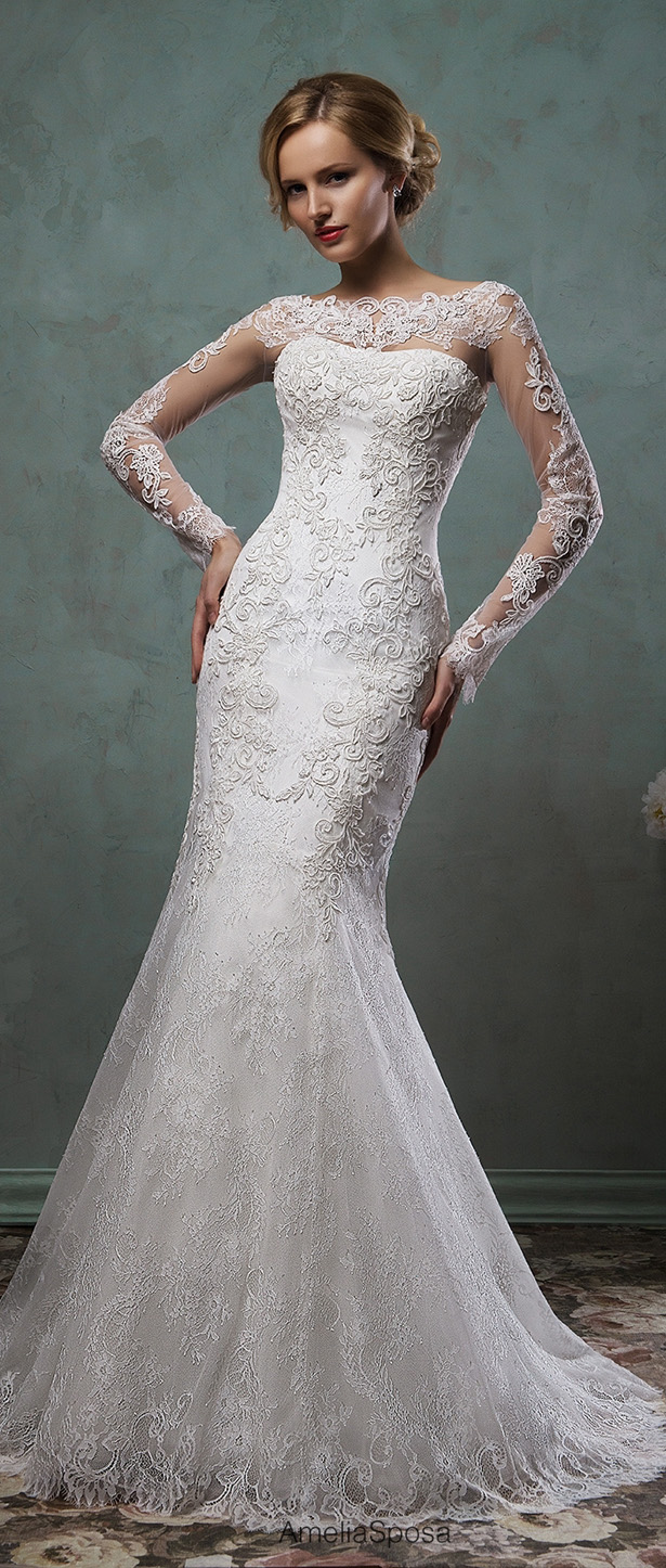Amelia sposa 2016 bridal collection belle the magazine for Amelia sposa wedding dress