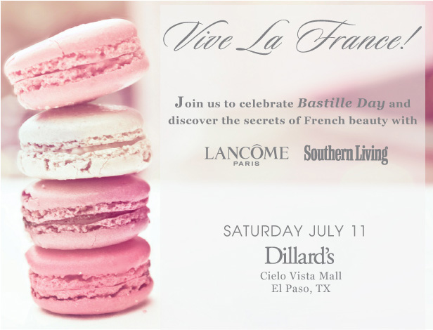 Celebrate Bastille Day with Us