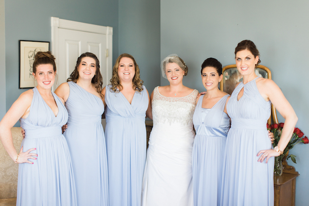 Dusty Blue Bridesmaid Dresses  ~ Keepsake Memories Photography