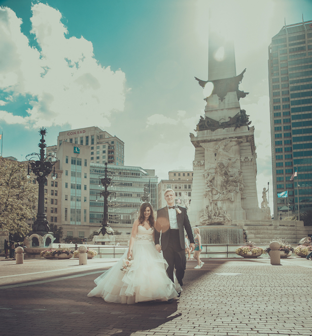 Independence Day Chic Wedding