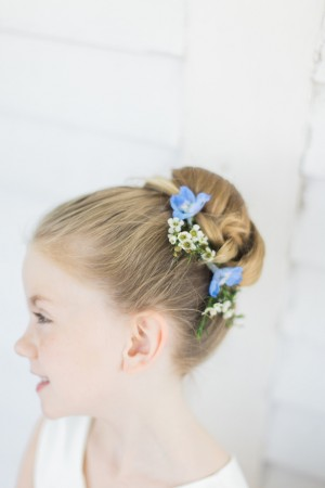 Flower Girl Hairstyle  ~ Keepsake Memories Photography