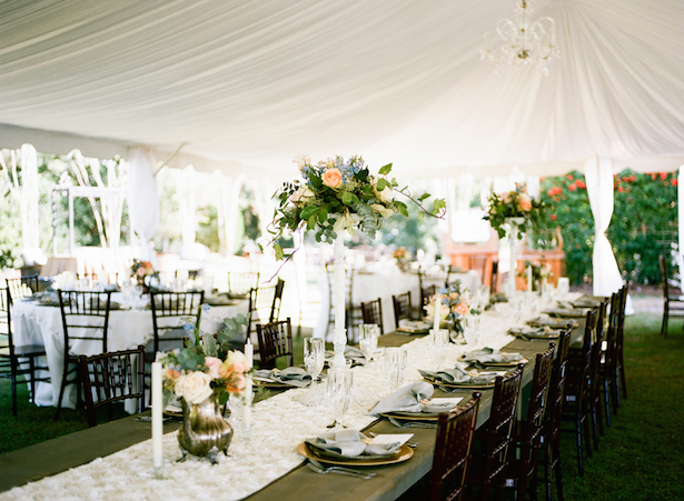 Long Wedding Tables ~ Keepsake Memories Photography